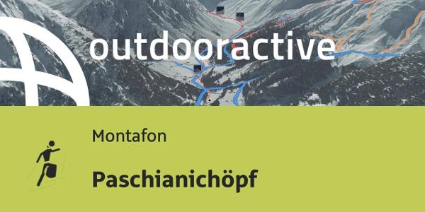 Skitour im Montafon: Paschianichöpf