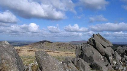 Vue sur les Preseli Hills depuis Carn Menyn