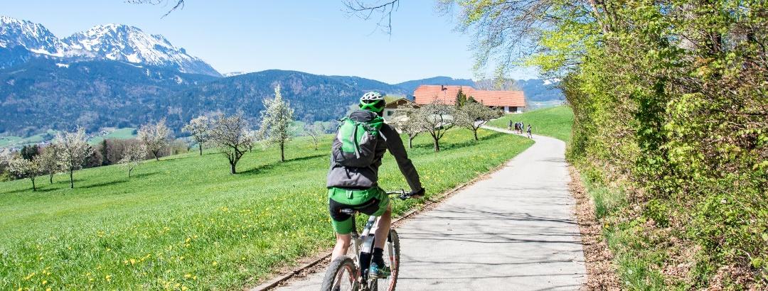 Mountainbiken im Berchtesgadener Land