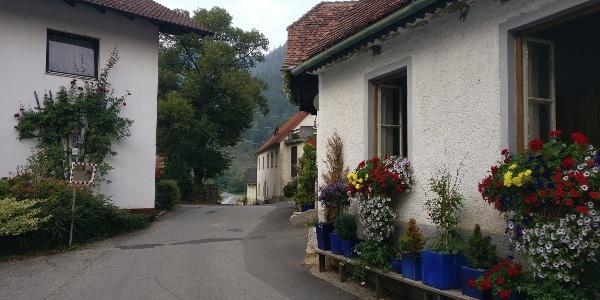 Der malerische Ort Mixnitz