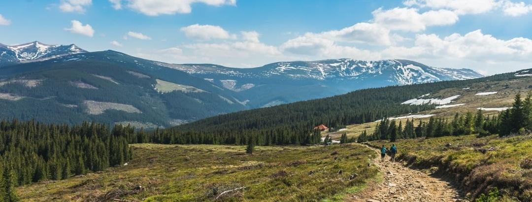 La drum prin munții României
