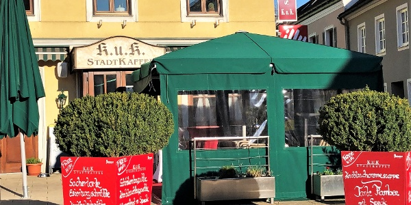 K.u.K. Stadtcafe am Thörringplatz in Pöchlarn