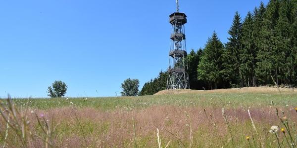 Rozhledna u Zážitkového parku Erlebnisland Kegelsberg v Gelenau