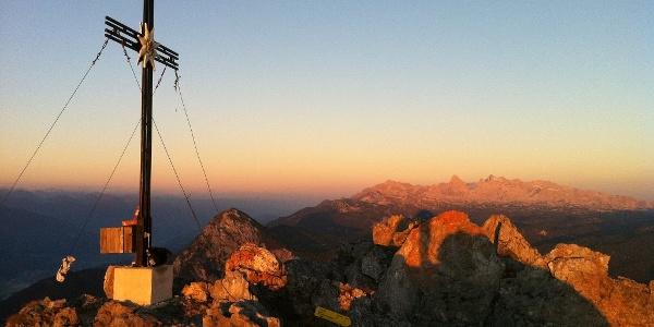 Kammspitze 2.139 m / Sonnenaufgang ...