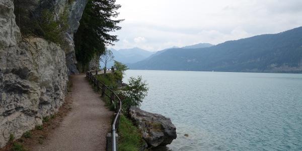 Uferweg zum Gasthof Fürberg