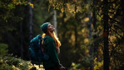 Wandern und die Natur genießen
