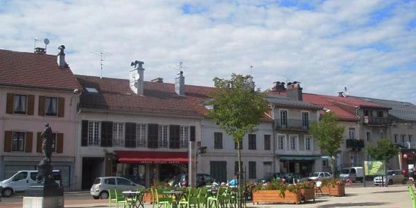 Place Charles Thévenin - Saint-Laurent-en-Granvaux