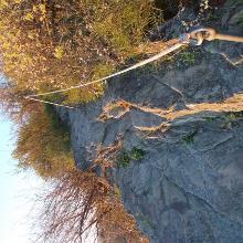 Kurzer Klettersteig