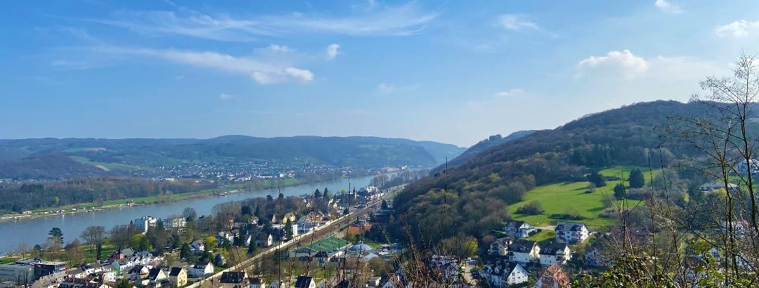 Blick auf Bad Breisig