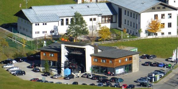 Talstation der Walmendinger Horn Bahn