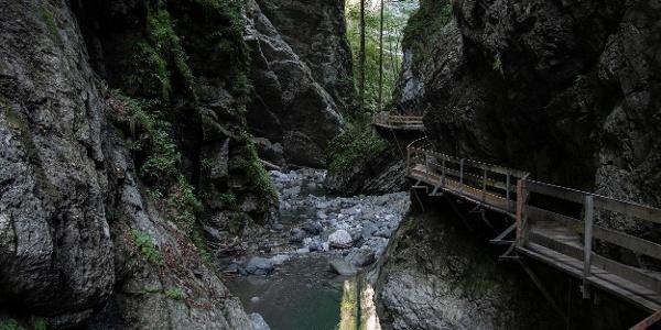 Alplochschlucht  (c) Martin Vogel / Vorarlberg Tourismus