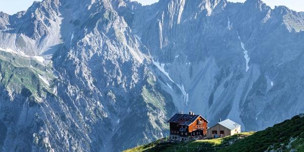 Kaltenberghütte (c) Lucas Tiefenthaler / Vorarlberg Tourismus