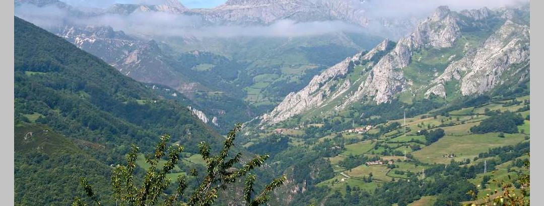 Vista desde el Puerto de Pajares, Asturias