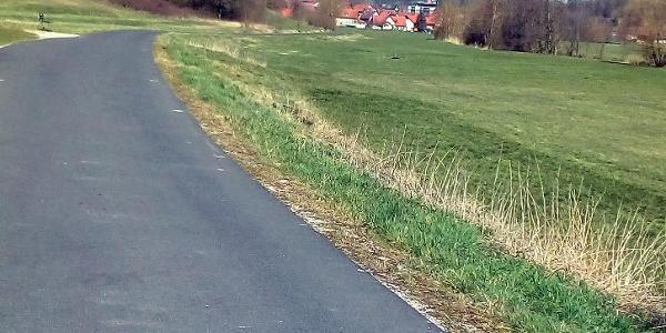 Radweg bei Bad Colberg