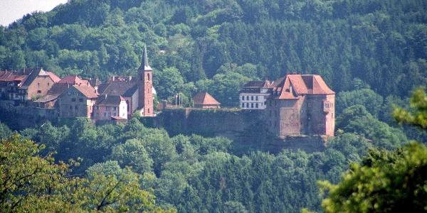 La Petite Pierre et son château