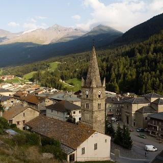 Vue d'ensemble de Lanslebourg-Mont-Cenis