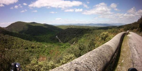 Panorama du belvédère de Tharaux