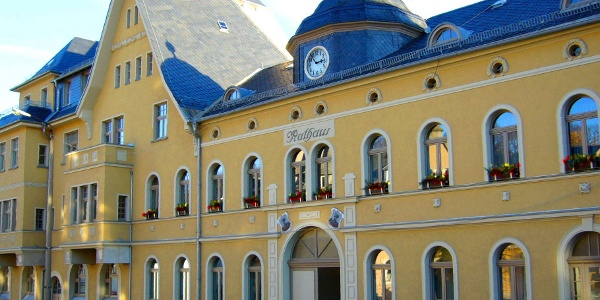 Tourist-Information im Rathaus Netzschkau