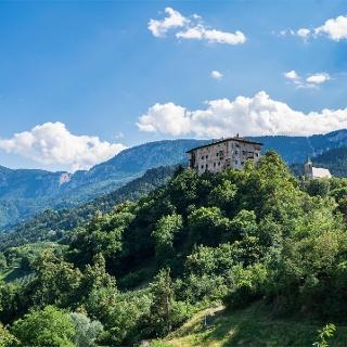 Castel Katzenzungen e chiesa di San Martino