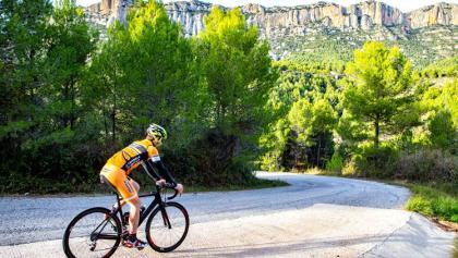 Montblanc - Montsant - Escaladei - Mussara - Montblanc. Vélo de Route, Catalogne