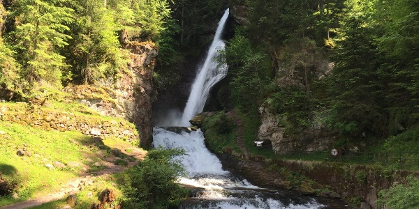 Waterfall Cavalese
