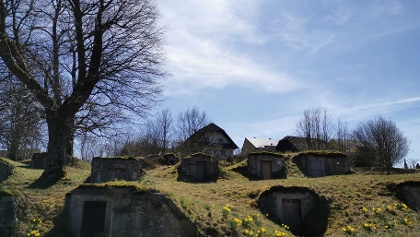 Alte Vorratskeller in Weißenstadt
