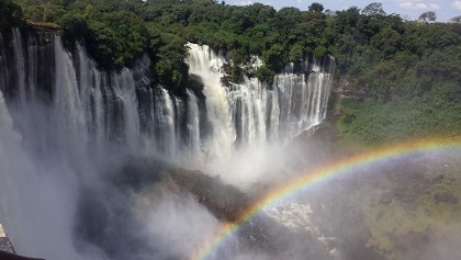 Kalandula-Wasserfälle in Angola