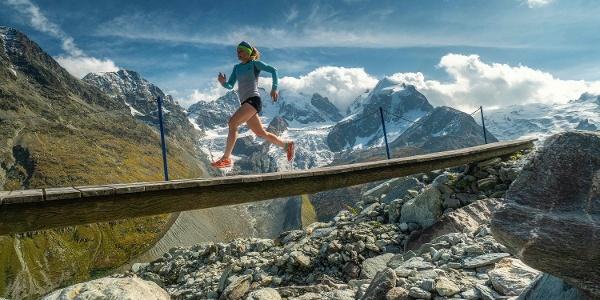 Trailrunning vor dem Biancograt