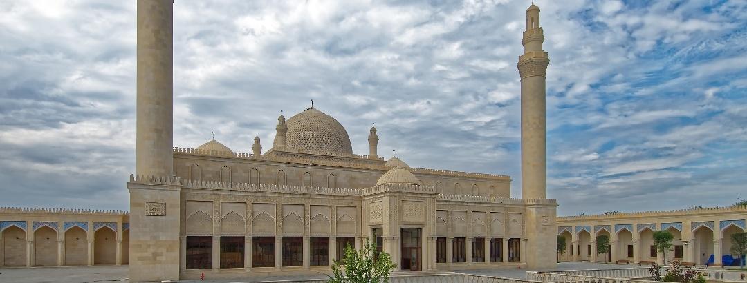 Juma Mosque in Şamaxı