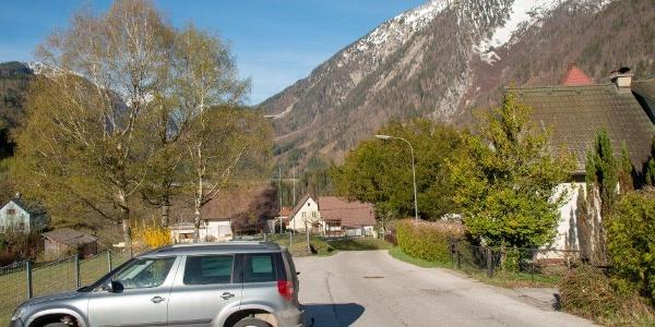 Startpunkt Freibad Hieflau
