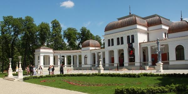Cazino-ul din Parcul Central, renovat in 2012