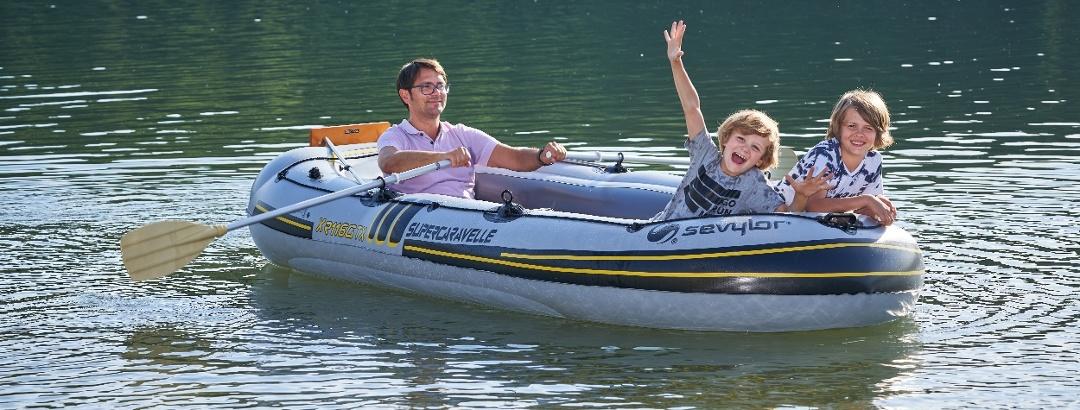 Wasserspaß Bootsfahrt Talsperre Pöhl