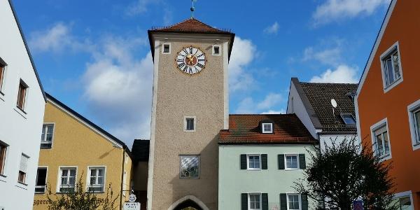 Altmühltor aus dem 13. Jh. in Kehlheim