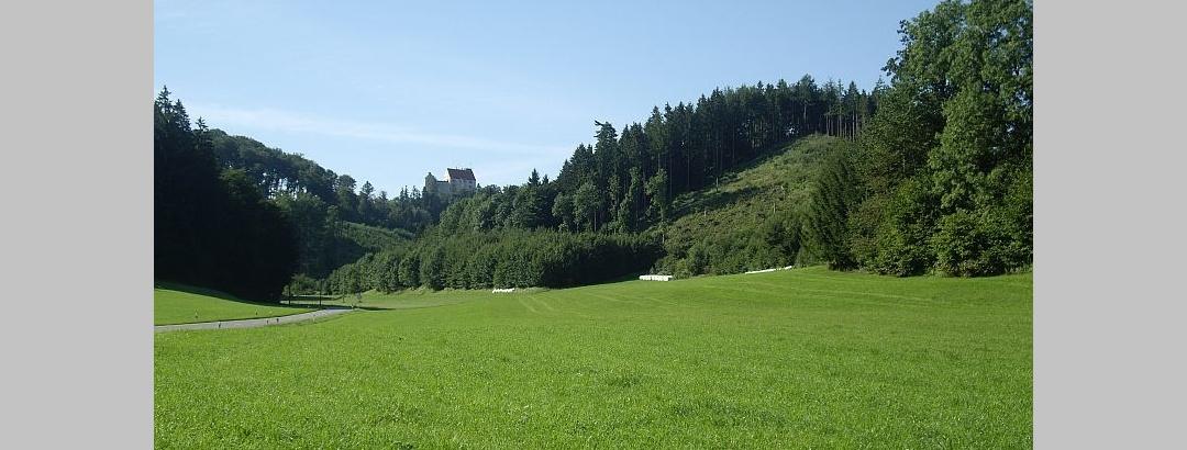 Blick von Greut Richtung Waldburg