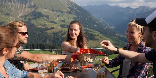 Kulinarischer Genuss auf der Marbachegg