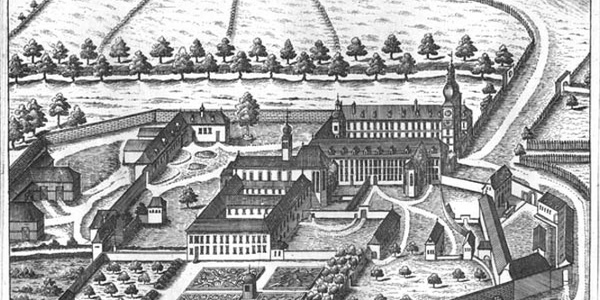 Baumgartenberg - Stich von Vischer