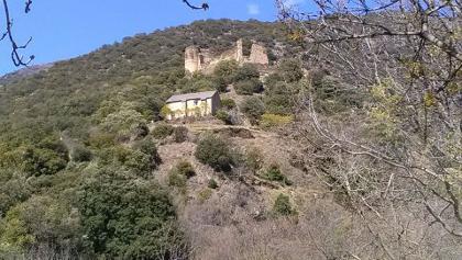 Château ruiné d'Evol