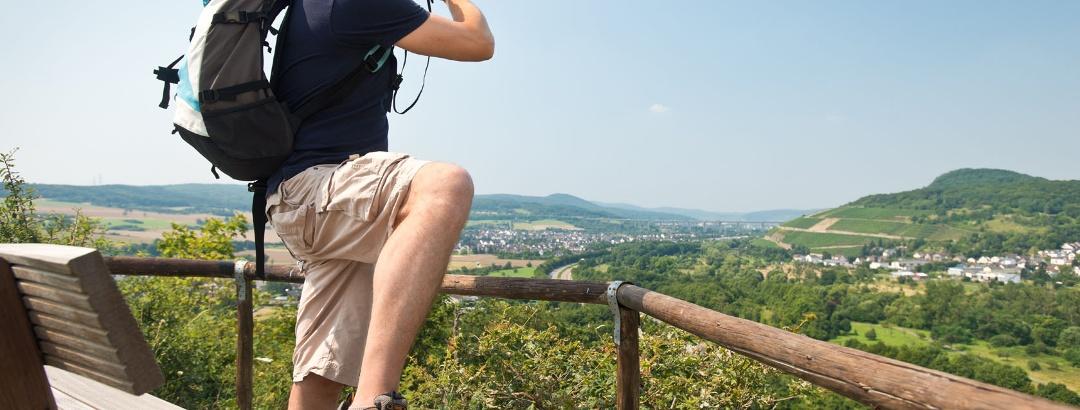 Panoramablick von der Ehlinger Ley