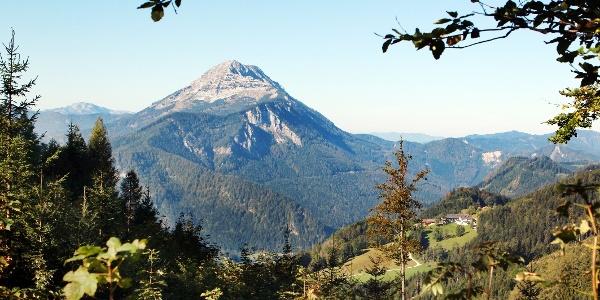 Ausblick Alpenhotel Gösing