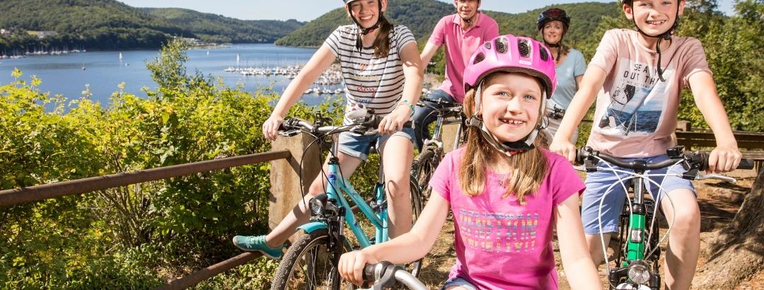 Radfahren am Edersee mit der ganzen Familie!