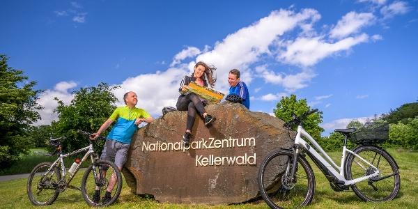 Eine gemütliche Radtour zum NationalparkZentrum Kellerwald