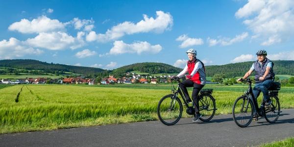 Radfahren in der Erlebnisregion Edersee