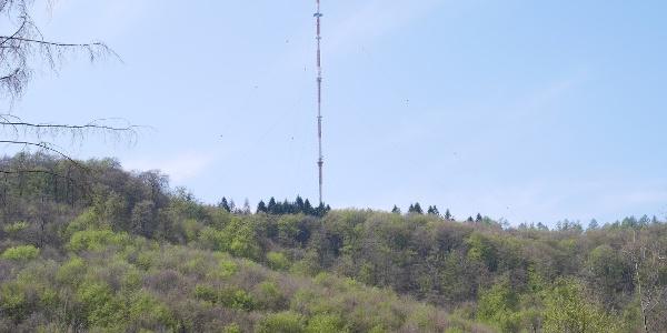 """Der """"Sender Teutoburger Wald"""" auf dem 394 m hohen """"Bielstein"""""""
