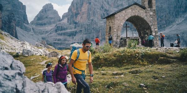 Chiesetta al Rifugio Maria e Alberto ai Brentei