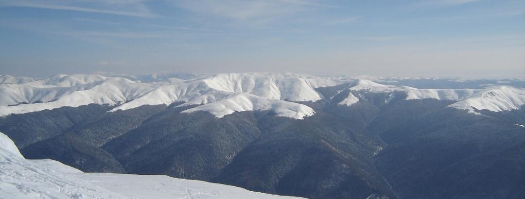 Baiu Mountains in Romania