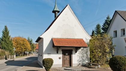 Kapelle in Wetzisreute