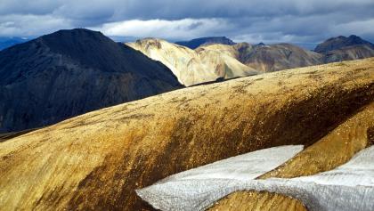 Farben, Formen und Kontraste des Fjallabak