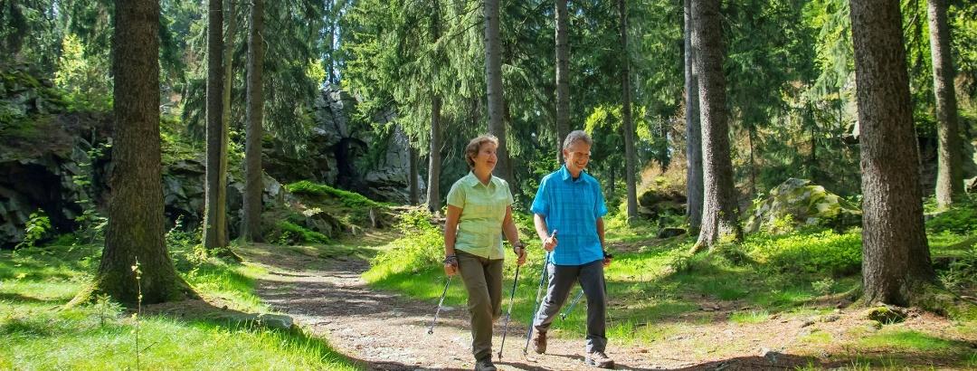 Wandern auf dem Felsenweg 1