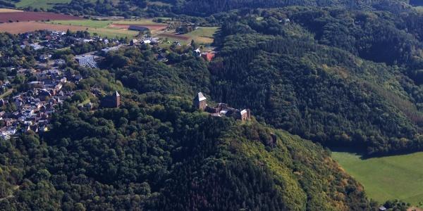Burg Nideggen mit dem Burgenmuseum