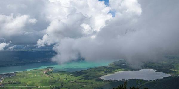 Forggensee und Bannwaldsee